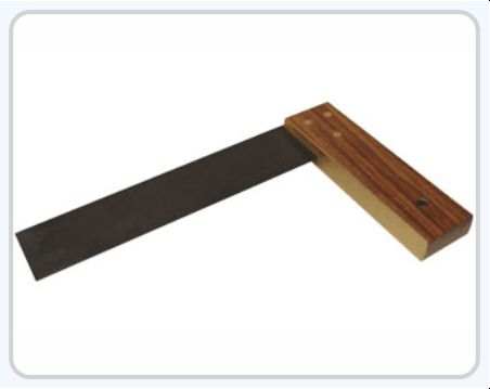 Carpentry Try Scale Single Brass