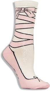 K. Bell Pretty Ballet Slipper Socks