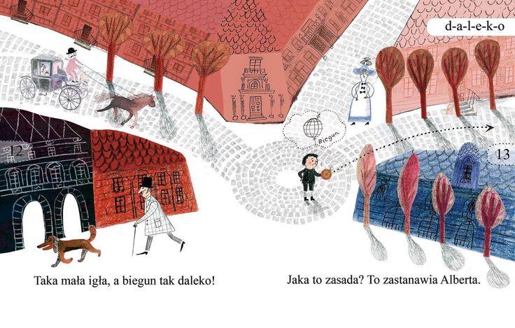 polska ilustracja dla dzieci: Zapowiedź - Teoria pana Alberta