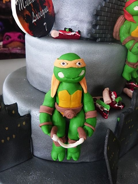 Turtle gumpaste by Naazneen