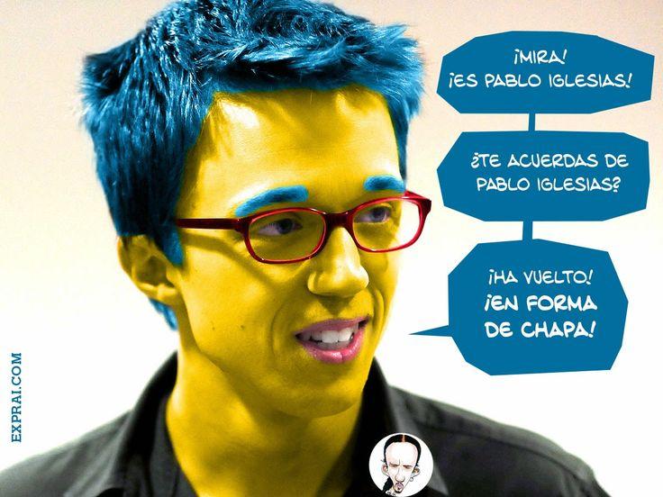 Iñigo Errejón / Milhouse