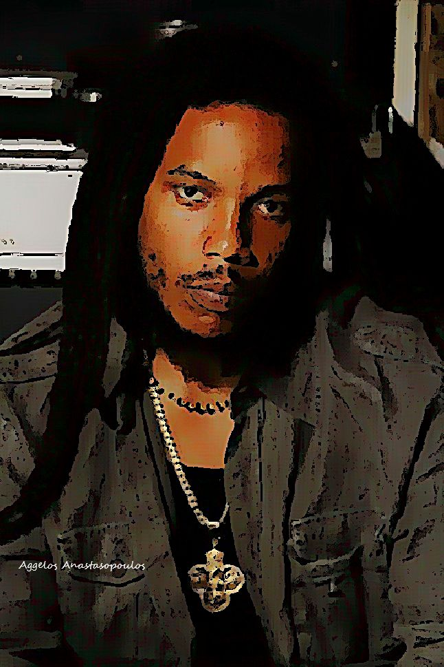 Stephen Marley my own creation painting pic