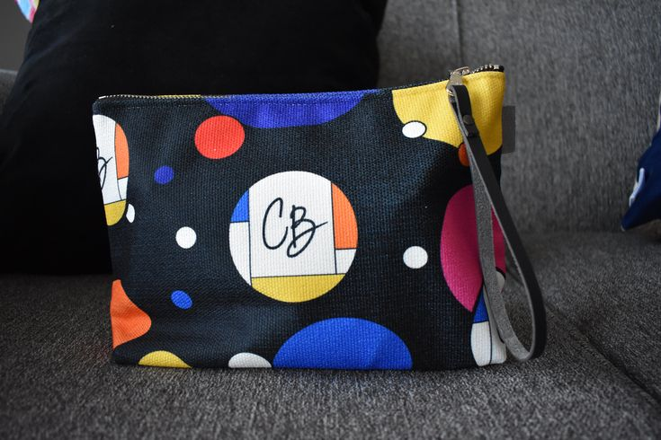 Make Up Bag, clutch, wristlet by CreateBeing on Etsy