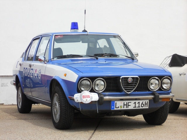 1976 Alfa Romeo Alfetta Police Car
