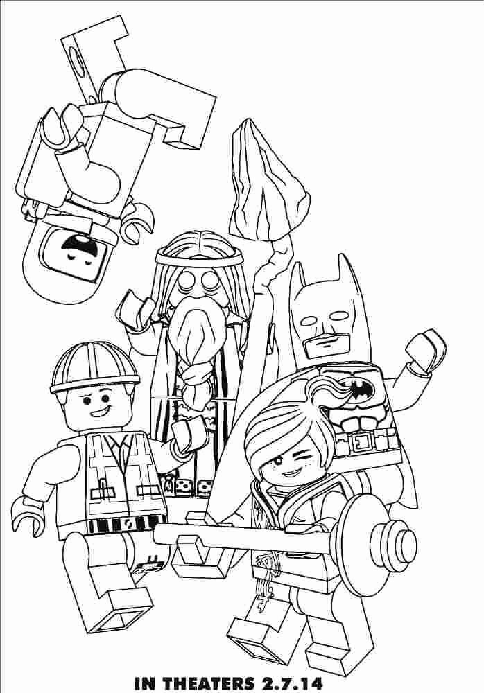 Kids Coloring Pages Lego Movie In 2020 Lego Movie Coloring Pages Lego Coloring Pages Lego Coloring