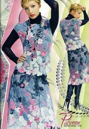 Duplet 118 Russian crochet patterns magazine