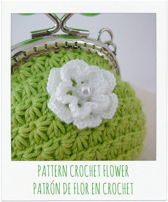 PDF PATRÓN de FLOR en Crochet // Ganchillo por PitusasyPetetes, €1.79