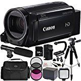 Canon VIXIA HF R700 Full HD Camcorder (Black) 12PC Accessory Bundle (Certified Refurbished) – Includes 64GB SD Memory Card + 3PC Filter Kit (UV + CPL + FLD) + MORE  by Centre Drone  Date first available at Amazon.ca: Oct. 4 2017   Buy new: CDN$ 359.95