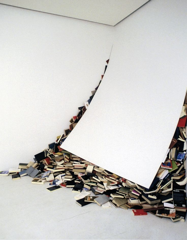 Follow on instagram @wanderscollectors Alicia Martin - Contemporaries, 2002 - I finally ran out of space for my books