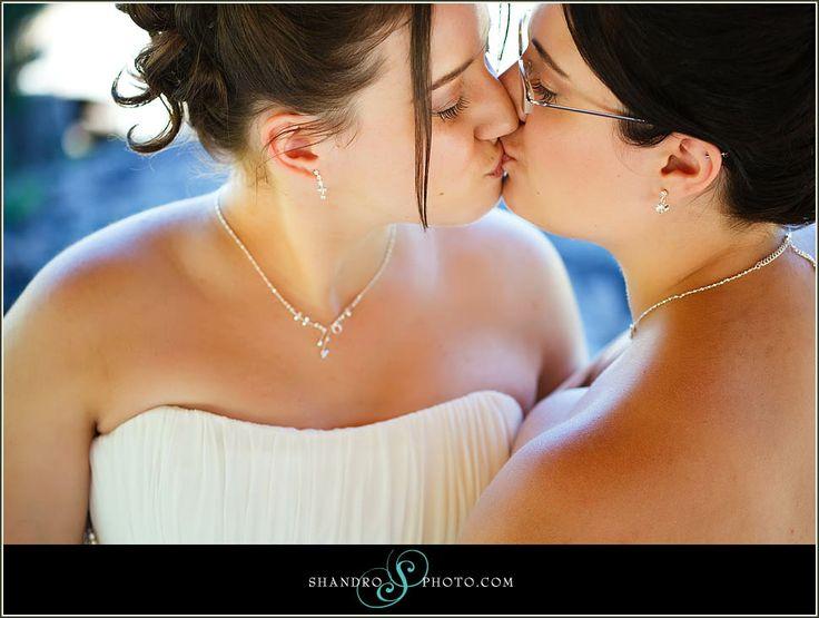 lesbian weddings | Shantel  Desirae – Devonian Botanic Garden – Same-Sex Wedding