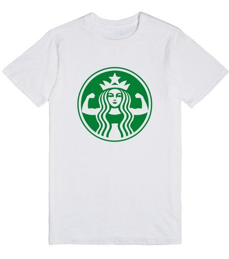 http://skreened.com/teezprint/starbuff-strong? Starbuff Strong | T-Shirt | Front