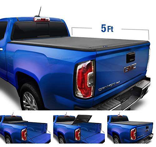 Tyger Auto Black Top T3 Soft Tri Fold Truck Tonneau Cover For 2015
