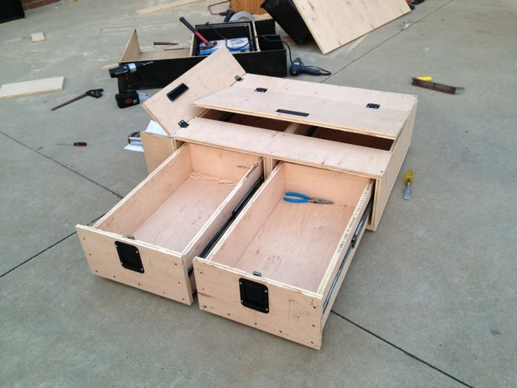 54 best images about creative diy suv truck bed storage on pinterest campers vehicle - Diy truck bed storage ...