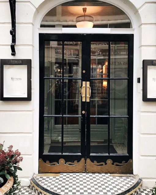 Soho House Has Unveiled A New Property In London Kettners Townhouse And Im Eager To Visit When Im In Eng Restaurant Door Hotel Doors Design Restaurant Entrance