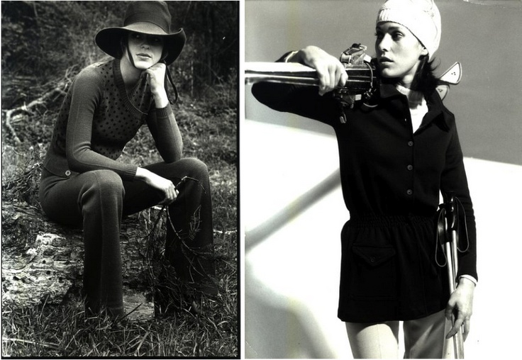 Photos by The London College of Fashion/The Woolmark Company, 1971/1970. The International Wool Secretariat (IWS), now The Woolmark Company, was established in 1937 to undertake research and the global promotion of wool.