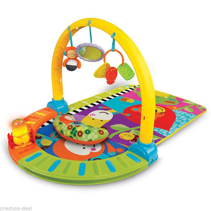 Baby Travel Discovery Gym Compact Travel Activity Gym Baby Play Mat Toddler Mat…