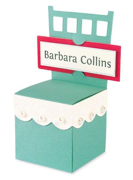 Favour box #wedding