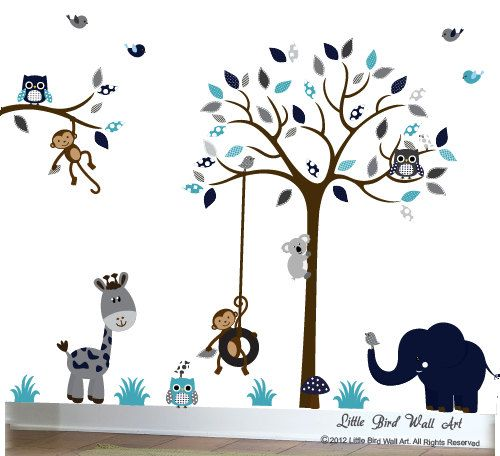 Enfants Wall Decal Nursery Wall Decal par Littlebirdwalldecals