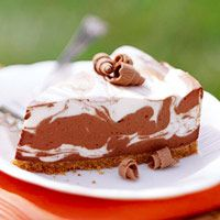 No-Bake Chocolate Swirl Cheesecake | Easy No-Bake Diabetic Dessert Recipes