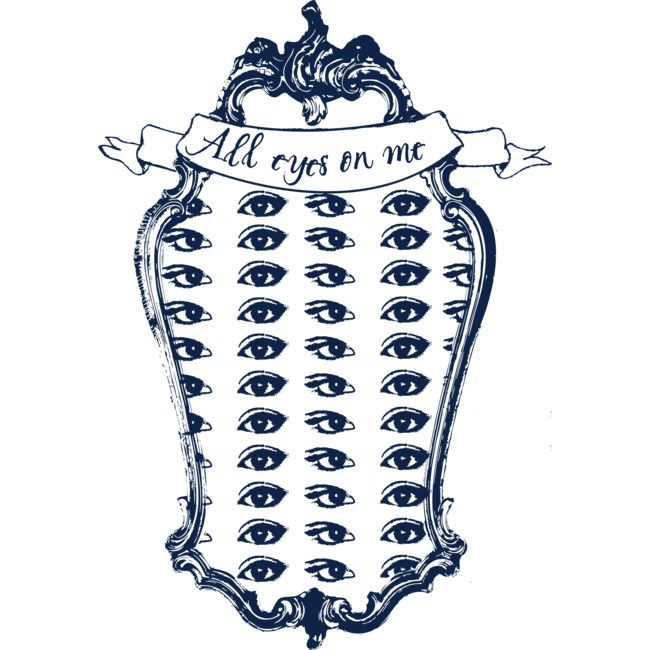 all eyes on me is a Crewneck designed by andreiserac to illustrate your life and is available at Design By Humans