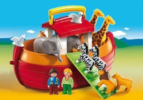 Oferta Arca lui Noe portabila, PLAYMOBIL 1.2.3 - Jucarii 0-2 ani
