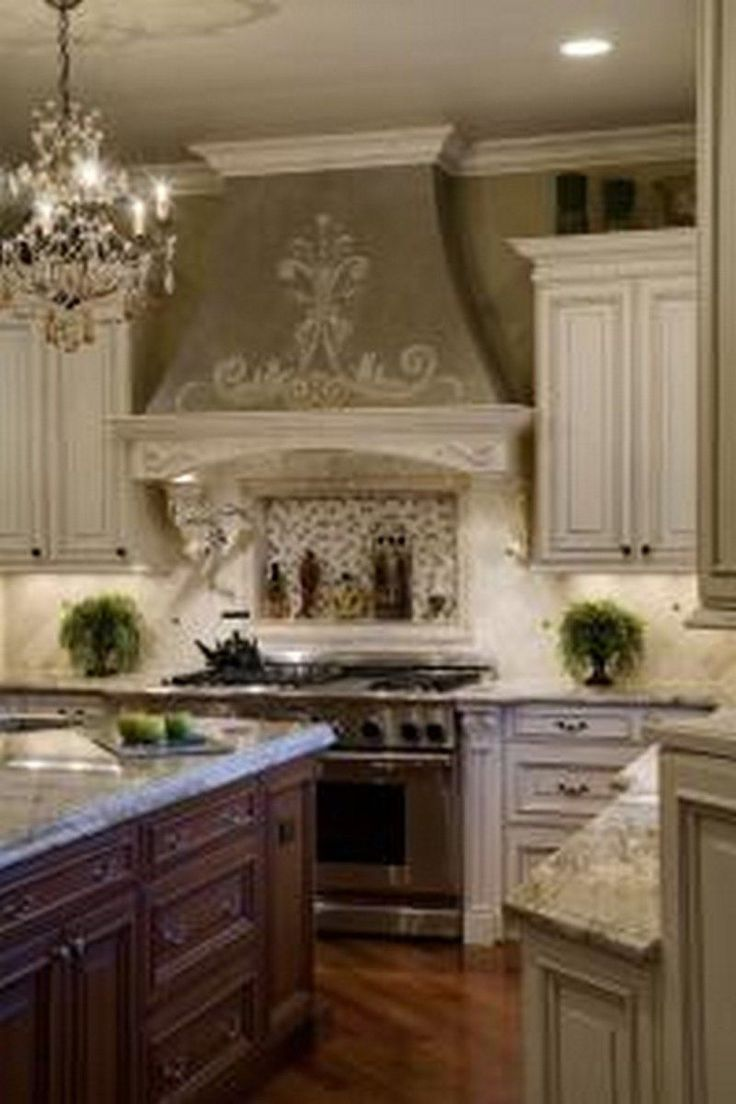 Best 25 french country kitchens ideas on pinterest french country kitchen with island french - French country kitchens ...