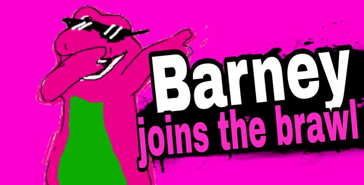 Barney joins the brawl