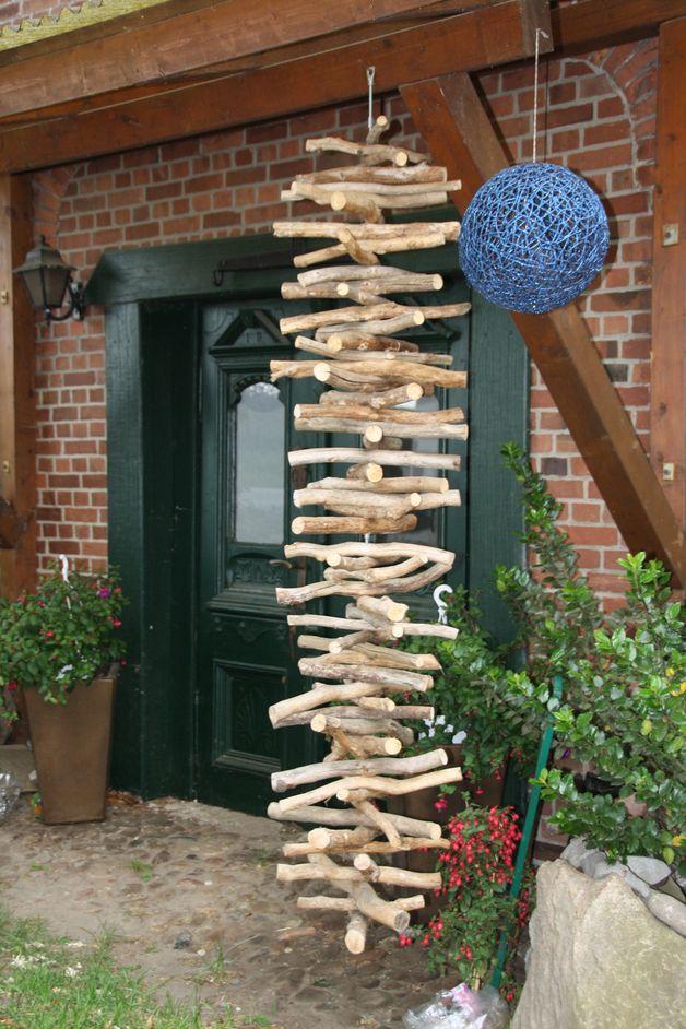 Gartendekoration - Garten-Dekoration aus Eiche gross 26 - ein Designerstück von EichenArt-Kroge bei DaWanda