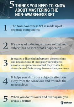 Use Milton Erickson's pioneering Non-Awareness Set to break down even the toughest resistance during your Hypnosis sessions; here's how you can get started now >> #hypnosis #hypnotherapy #BreakDown #resistance #MiltonErickson