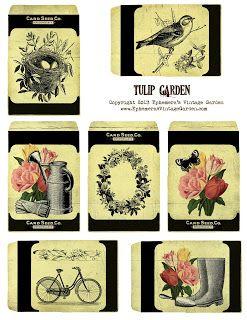 Ephemeras Vintage Garden: birds