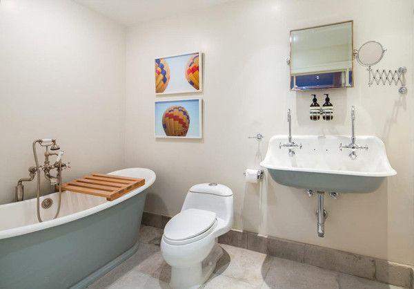 Sarah Jessica Parker's Kids' Bathroom - Sarah Jessica Parker's New York Townhouse - Photos