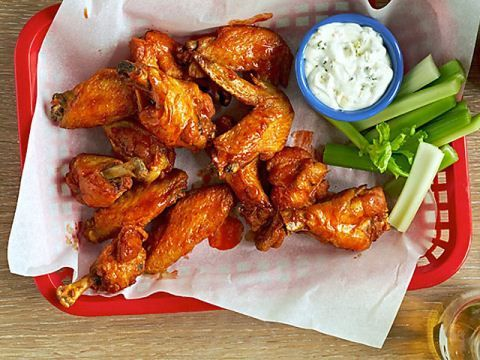 Get this all-star, easy-to-follow Argentinian Chimichurri Chicken Wings recipe from Food Network Kitchen