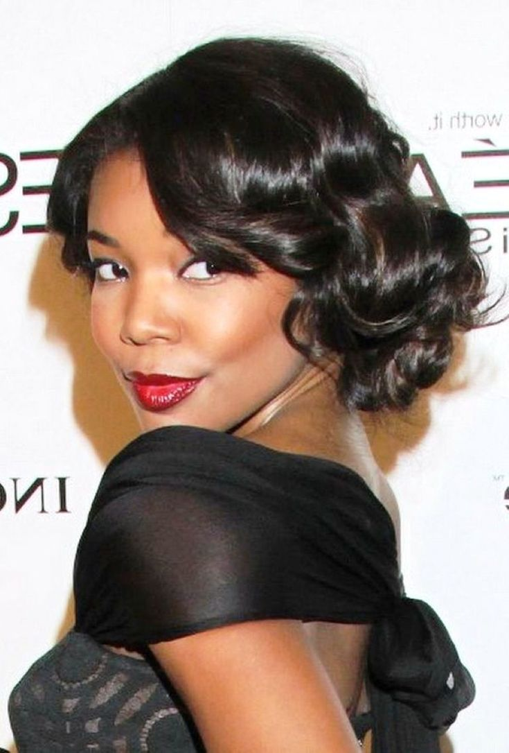 Wedding Hairstyles For Black Women Are Gorgeous 2013