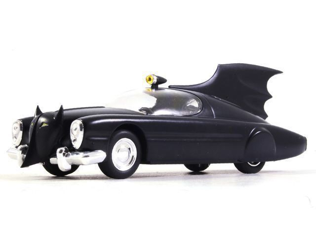 Diecast Batman 1//43 Batmobile Car Model Detective Comics #156 Black Color