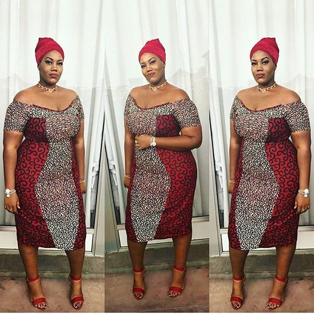 d93c8529850 Plus Size Ankara Gown Styles African couture t African