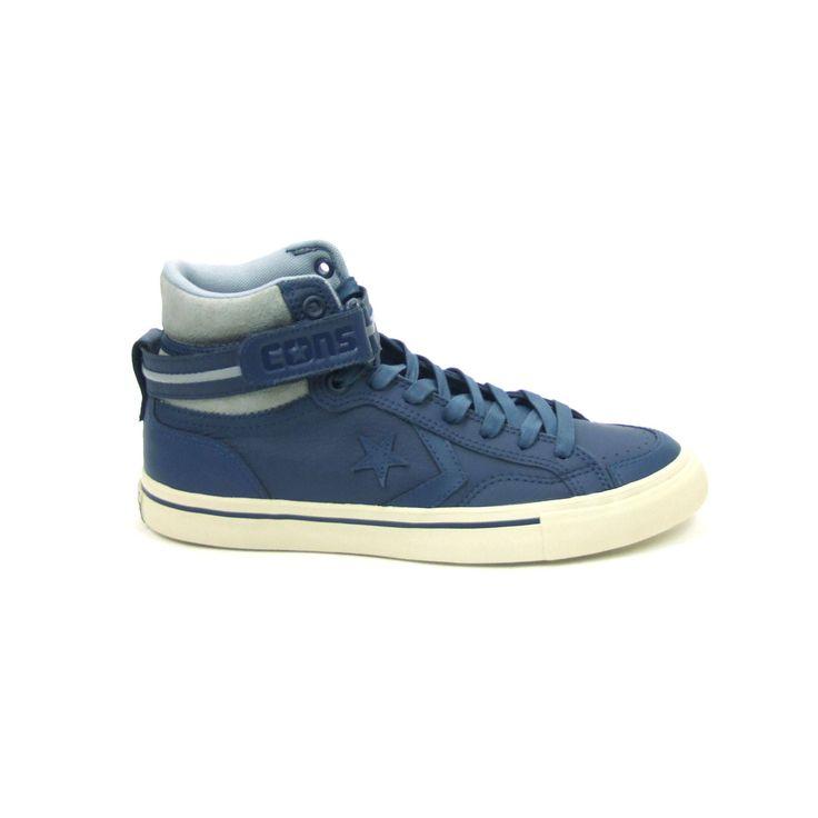 Chaussures Blaze Converse Bleu Avec Des Hommes De Fermeture Velcro rfuarK0e9