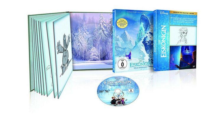 [Angebot] Die Eiskönigin  Völlig unverfroren (Collectors DVD Edition) für 899
