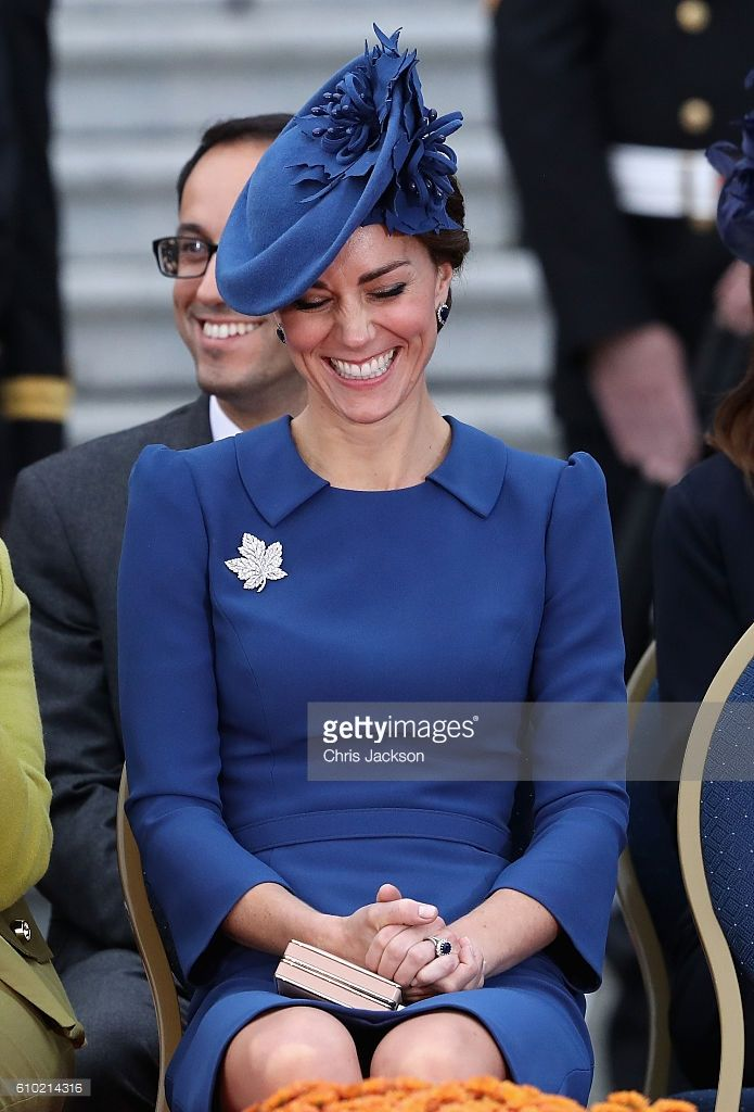 Catherine, Duchess of Cambridge attends the Official Welcome Ceremony for the Royal Tour at the British Columbia Legislature on September 24, 2016 in Victoria, Canada. Prince William, Duke of Cambridge, Catherine, Duchess of Cambridge, Prince George and Princess Charlotte are visiting Canada as part of an eight day visit to the country taking in areas such as Bella Bella, Whitehorse and Kelowna. (Photo by Chris Jackson/Getty Images)