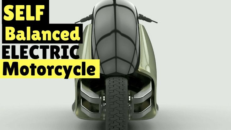 Meet GyroCycle  the self balancing electric motorcycle