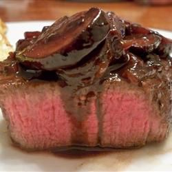 Filet Mignon with Red Wine and Rich Balsamic Glaze