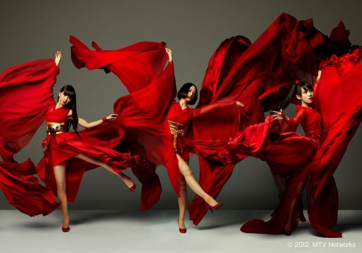 "Japanese Girl's Electro-Pop Group ""Perfume"""