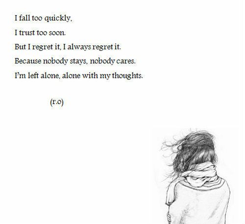Sad Boy Alone Quotes: 1000+ Left Alone Quotes On Pinterest