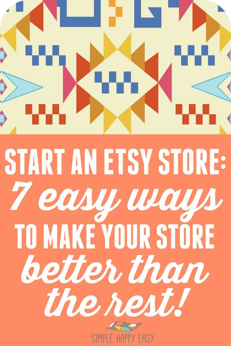 Starting an online business can be overwhelming and learning how to start an Etsy store is no different. There are thousands of Etsy stores for people to choose from and you need to make sure yours is better than the rest. Here are a few ways you can do that and make sure that your Etsy store is successful and makes money.