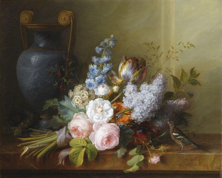 Cornelis van Spaendonck - Bouquet of Flowers at t