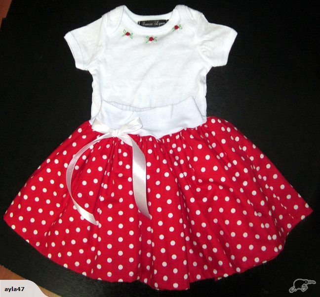 "POLKADOT SKIRT BY ""VANESSA LYNNE"" 