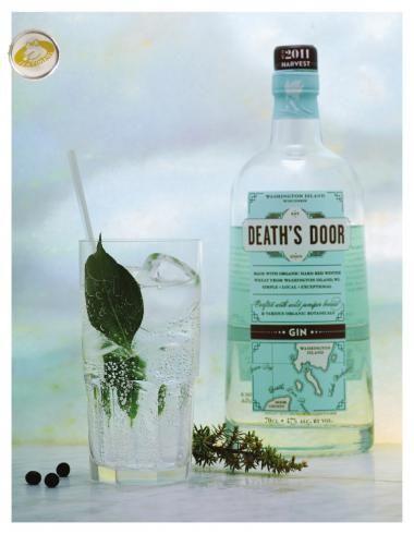 Death's Door Gin http://njam.tv/recepten/deaths-door-gin