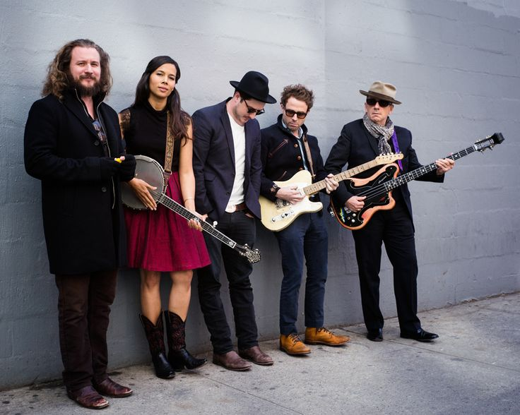 Supergroup featuring Elvis Costello & Marcus Mumford - The New Basement Tapes