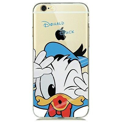 Disney Donald Duck Ultra Thin Soft TPU Cover Case For iphone 6 6s/ Uk Seller