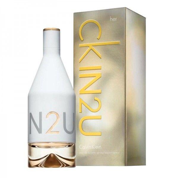 Calvin Klein In2U EDT 150ml For Women >> Click pe poza pentru a vedea pretul.  #ParfumuriOriginale #ParfumuriOnline