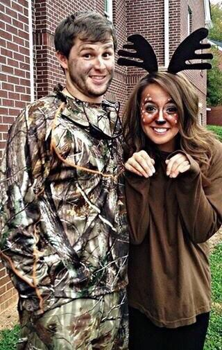 Best 25 deer costume ideas on pinterest bambi costume - Maquillage halloween couple ...
